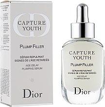 Düfte, Parfümerie und Kosmetik Aufpolsterndes Anti-Aging Gesichtsserum mit Hyaluronsäure - Dior Capture Youth Plump Filler Age-Delay Plumping Serum