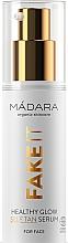Düfte, Parfümerie und Kosmetik Selbstbräunungsserum für das Gesicht - Madara Cosmetics Fake It Healthy Glow Self Tan Serum