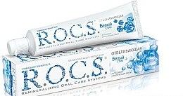 """Düfte, Parfümerie und Kosmetik Aufhellende Zahnpasta """"Whitening"""" - R.O.C.S."""