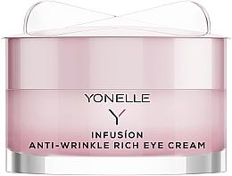 Düfte, Parfümerie und Kosmetik Anti-Falten Nachtcreme für die Augenpartie - Yonelle Infusion Anti-Wrinkle Rich Eye Cream