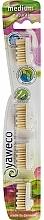 Düfte, Parfümerie und Kosmetik Austauschbare Zahnbürstenköpfe mittelhart 4 St. - Yaweco Replaceable Toothbrush Brush Heads Natural Medium