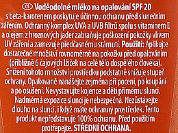 Wasserfestes Sonnenschutzmilch-Spray SPF 20 - Dermacol Sun Water Resistant Milk Spray SPF20 — Bild N2