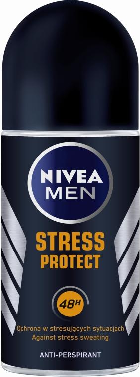 Deo Roll-on Antitranspirant - Nivea Men Stress Protect deodorant Roll-On — Bild N1