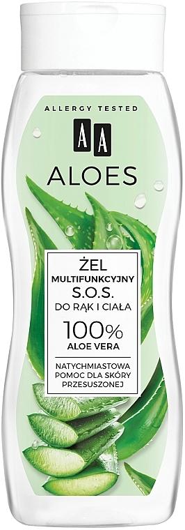 Multifunktionales Hand- und Körpergel mit 100% Aloe Vera - AA Aloes 100% Aloe Vera Hand And Body SOS Gel
