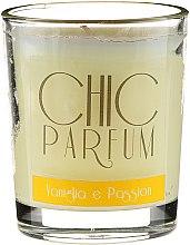 Düfte, Parfümerie und Kosmetik Duftkerze Vaniglia e Passion - Chic Parfum Vaniglia e Passion Candle