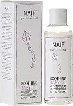 Düfte, Parfümerie und Kosmetik Beruhigendes Massageöl für Babys mit Baumwollsamenöl - Naif Baby Soothing Baby Massage Oil