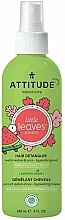 Düfte, Parfümerie und Kosmetik Entwirr-Haarspray für Kinder mit Wassermelone und Kokosnuss - Attitude Detangling Spray Watermelon And Coconut