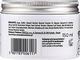 Reinigende und feuchtigkeitsspendende Gesichtspaste für trockene Haut mit Grünkohl, Fenchel und weißem Ton - DermoFuture Veggie Kale & fennel Pasta — Bild N2