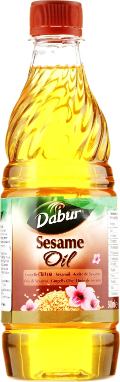 Sesamöl 500 ml - Dabur Vatika Sesame Oil — Bild N1