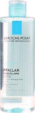Make-up Reinigungslotion - La Roche-Posay Effaclar Make-Up Removing Purifying Water — Bild N1