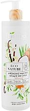 Düfte, Parfümerie und Kosmetik Cremige Duschmilch mit Kokosmilch und Orangenblüte - Bielenda Eco Nature Creamy Body Wash Milk Vanilla Coconut Milk Orange Blossom