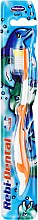Düfte, Parfümerie und Kosmetik Kinderzahnbürste weich Rebi-Dental M16 orange-weiß - Mattes