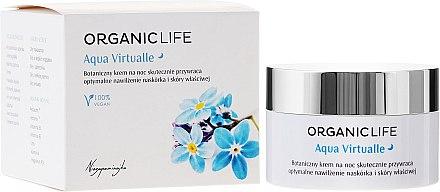 Bio fechtigkeitsspendende Nachtcreme - Organic Life Dermocosmetics Aqua Virtualle Moisturising Night Cream — Bild N1