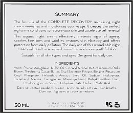 Regenerierende und beruhigende Nachtcreme - Vestige Verdant Complete Recovery Night Cream — Bild N3