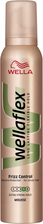 Anti-Frizz Mousse für lockiges Haar Extra starker Halt - Wella Pro Wellaflex Frizz Control — Bild N1