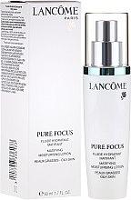 Düfte, Parfümerie und Kosmetik Feuchtigkeitsspendende Tageslotion für fettige Haut gegen Akne - Lancome Pure Focus Fluid