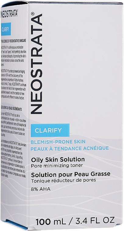 Anti-Aging Gesichtslotion für fettige und zu Hautunreinheiten neigende Haut - NeoStrata Oily Skin Solution — Bild N2