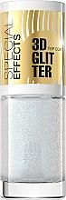 Düfte, Parfümerie und Kosmetik Nagelüberlack mit Glitzer №152 - Eveline Cosmetics Special Effects 3D Glitter Top Coat