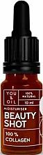 Düfte, Parfümerie und Kosmetik Feuchtigkeitsspendendes Gesichtsserum mit Kollagen - You & Oil Beauty Shot 100 % Collagen