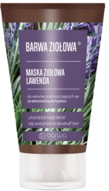 Haarmaske mit Lavendelextrakt - Barwa Lawender Herb Mask