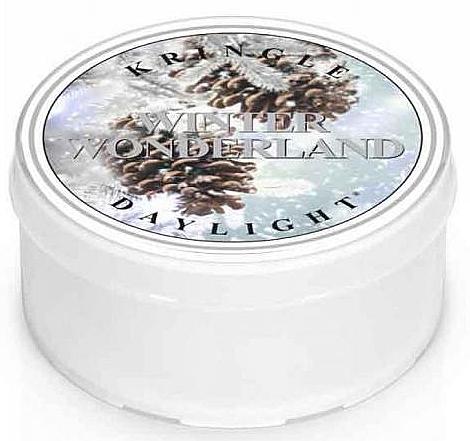 Duftkerze Daylight Winter Wonderland - Kringle Candle Winter Wonderland Daylight — Bild N1