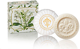 Düfte, Parfümerie und Kosmetik Naturseife Lily Of The Valley - Saponificio Artigianale Fiorentino Lily Of The Valley Soap Abbracci Floreali Collection
