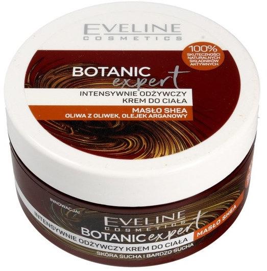 Intensiv pflegende Körpercreme - Eveline Cosmetics Botanic Expert