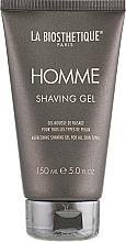 Düfte, Parfümerie und Kosmetik Erfrischendes Rasiergel für alle Hauttypen - La Biosthetique Homme Shaving Gel