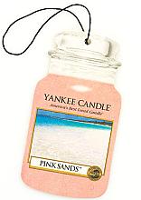 Düfte, Parfümerie und Kosmetik Papier-Lufterfrischer Pink Sands - Yankee Candle Pink Sands Car Jar