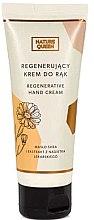 Düfte, Parfümerie und Kosmetik Regenerierende Handcreme mit Sheabutter und Ringelblumenextrakt - Nature Queen