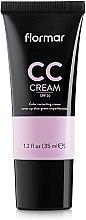 Düfte, Parfümerie und Kosmetik CC Creme gegen dunkle Augenringe LSF 20 - Flormar CC Cream Anti-Dark Circles