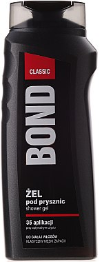 Duschgel für Körper und Haar - Bond Expert Classic Shower Gel For Body & Hair — Bild N1