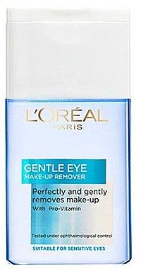 Make-up Entferner mit Provitaminen - L'Oreal Paris Gentle Eye Make Up Remover — Bild N1