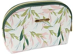 Düfte, Parfümerie und Kosmetik Kosmetiktasche Spring Flower groß 4996 weiß-grün - Donegal