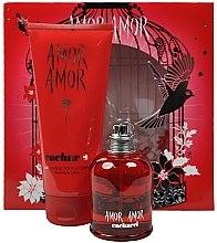Düfte, Parfümerie und Kosmetik Cacharel Amor Amor - Duftset (Eau de Toilette 100ml + Körperlotion 200ml)
