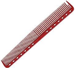 Düfte, Parfümerie und Kosmetik Haarschneidekamm 180 mm rot - Y.S.Park Professional 339 Cutting Combs Red