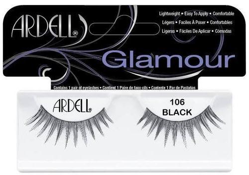 Künstliche Wimpern - Ardell Glamour Eyelashes Black 106 — Bild N1