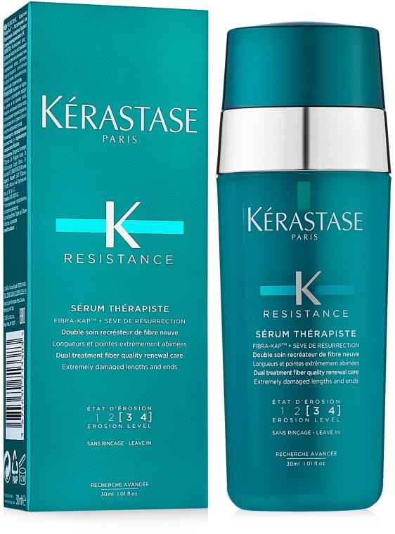 Revitalisierendes Serum für geschädigtes Haar - Kerastase Resistance Therapist Renewal Leave-in Serum — Bild N1