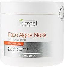 Düfte, Parfümerie und Kosmetik Alginat-Gesichtsmaske mit marokkanischem Rhassoul - Bielenda Professional Algae Face Mask