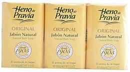 Düfte, Parfümerie und Kosmetik Heno de Pravia Original - Seifenset (Seifen 3x150g)
