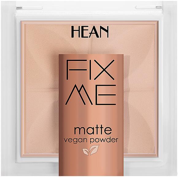 Gesichtspuder - Hean Fix Me Matte Vegan Powder — Bild N1