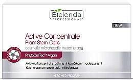 Düfte, Parfümerie und Kosmetik Aktives Konzentrat mit pflanzlichen Stammzellen - Bielenda Professional Meso Med Program Active Concentrate with Plant Stem Cells