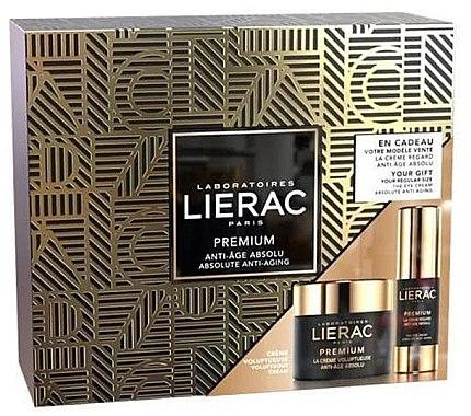 Gesichtspflegeset - Lierac Premium Voluptuous (Augencreme 15ml + Creme 50ml) — Bild N1
