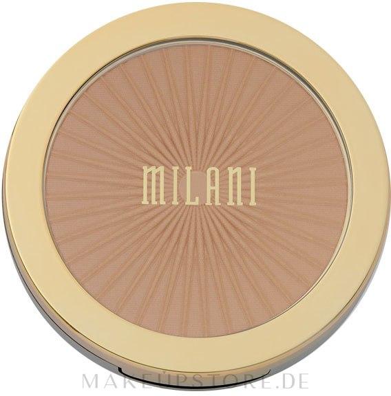 Gesichtsbronzer - Milani Silky Matte Bronzing Powder — Bild 01 - Sun Light