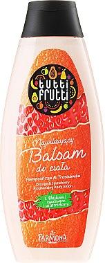 "Feuchtigkeitsspendende Körperlotion ""Orange & Erdbeere"" - Farmona Tutti Frutti Body Lotion — Bild N1"