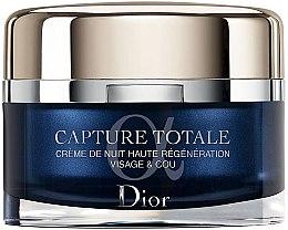 Düfte, Parfümerie und Kosmetik Intensiv regenerierende Capture Totale Nachtcreme - Dior Capture Totale Nuit Intensive Night Restorative Creme