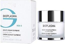 Düfte, Parfümerie und Kosmetik Pflegende Nachtcreme - Gigi Bioplasma Night Cream Supreme