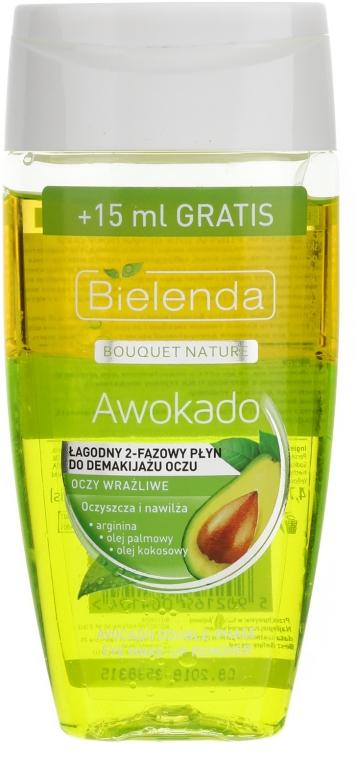 Gesichtsreinigungsgel mit Avokado- und Kokosnussöl - Bielenda Bouquet Nature Awokado