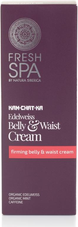 Staffende Creme für Bauch und Taille - Natura Siberica Fresh Spa Kam-Chat-Ka Edelweiss Belly & Waist Cream — Bild N1
