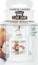 Düfte, Parfümerie und Kosmetik Auto-Lufterfrischer - Yankee Candle Soft Blanket Car Jar Ultimate